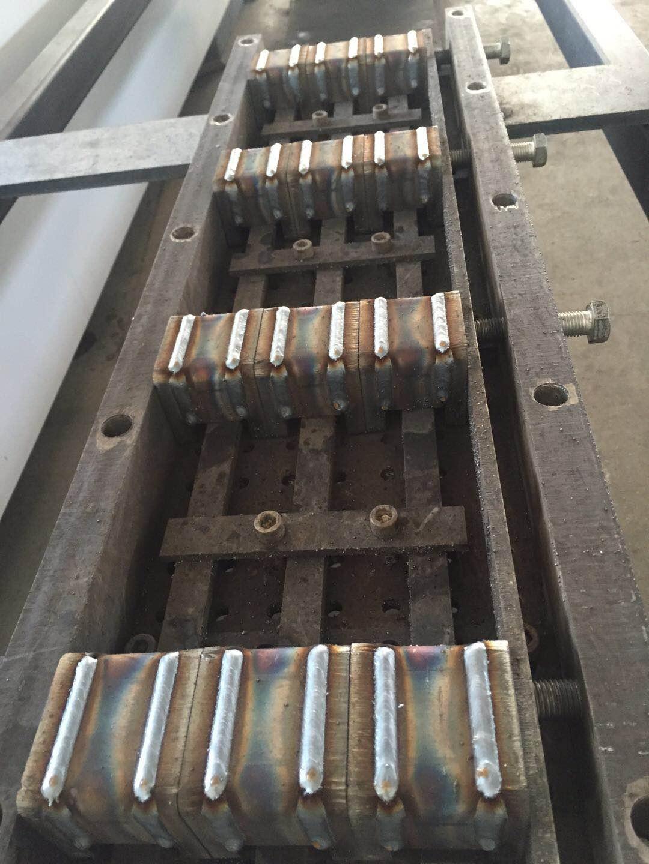伊唯特焊接机器人二保焊焊接效果